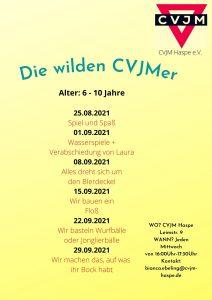 Kindergruppe ab 6 Jahren @ CVJM Heim Haspe